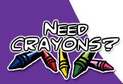 Need Crayons? Contact Jerry!