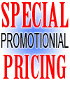 Special Promotion Pricing